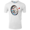 Target And Dart Illustration T-Shirt