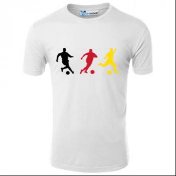 German Soccer Silhouettes T-Shirt