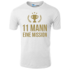 11 Mann eine Mission T-Shirt