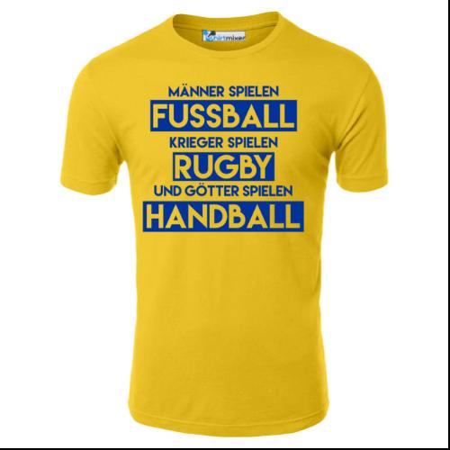 Götter spielen Handball T-Shirt