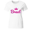 Braut Krone Frauen T-Shirt