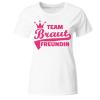Team Braut Freund Frauen T-Shirt