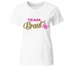 Team Braut Bachelorette Party Frauen T-Shirt