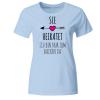 Sie heiratet ich zum backen Frauen T-Shirt