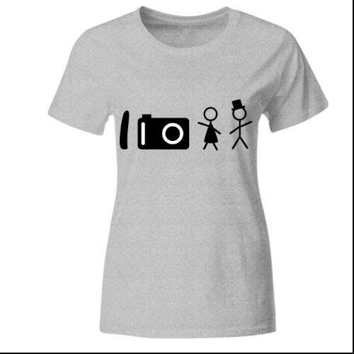 Hochzeitsfotograf Frauen T-Shirt