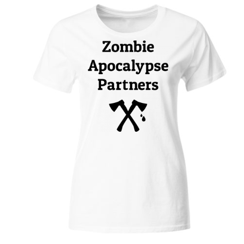 Zombie Apocalypse Partners Frauen T-Shirt