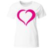 Smiley in Love Frauen T-Shirt