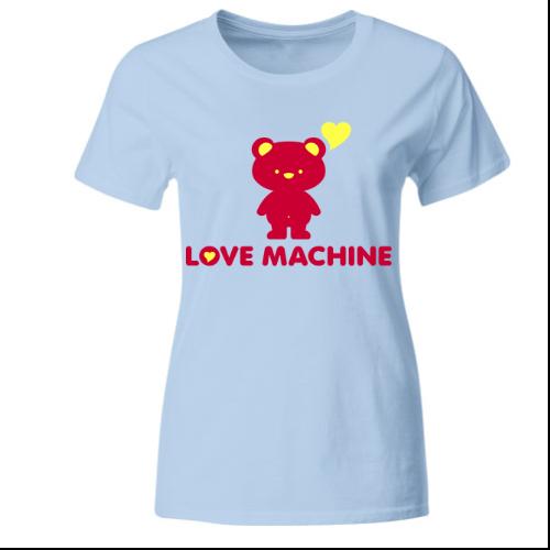 Love Machine - Teddy Frauen T-Shirt