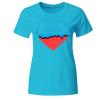 Love Free Frauen T-Shirt