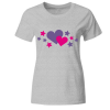 Herzen Herz Frauen T-Shirt