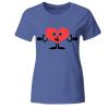 Herz Pink Frauen T-Shirt