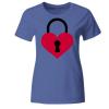 Herz Romantisch Liebe Frauen T-Shirt