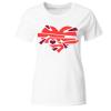 Goldfisch in Cognac Frauen T-Shirt