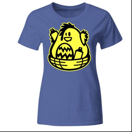 Ostern Küken Graffiti Frauen T-Shirt