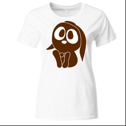 Niedlicher Hase Ostern Frauen T-Shirt