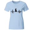 Hase bunny frequence Frauen T-Shirt