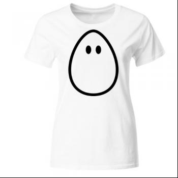 Ei egg with eyes Frauen T-Shirt