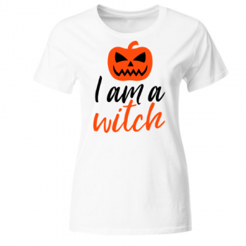 I am a Witch Hexe Frauen T-Shirt