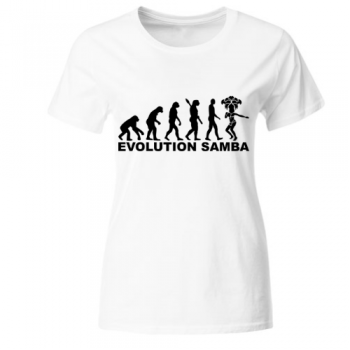 Evolution Samba Frauen T-Shirt