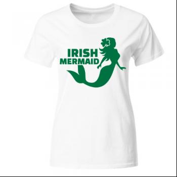 Irish mermaid Frauen T-Shirt