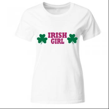 Irish Girl Frauen T-Shirt