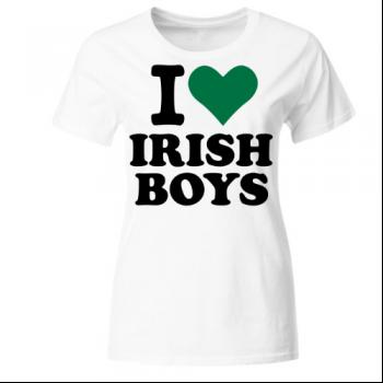 I love irish Boys Frauen T-Shirt