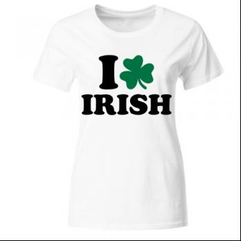 I love Irish 1 Frauen T-Shirt