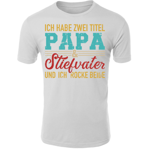 Stolzer Papa 2 T-Shirt