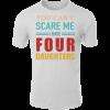 Papa vier Kinder T-Shirt