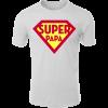 Papa vier Kinder 1 T-Shirt