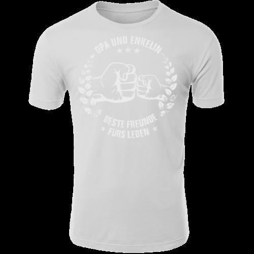 Opa und Enkelin beste Freunde fürs Leben T-Shirt