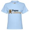 Papa Dinosaurier 1 Kinder T-Shirt