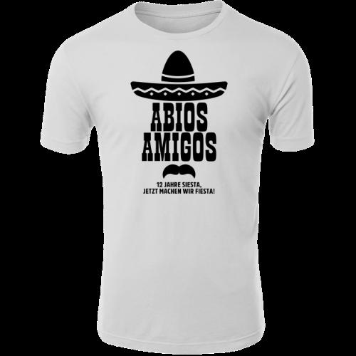 Abios Amigos Abi Shirt Abitur T-Shirt