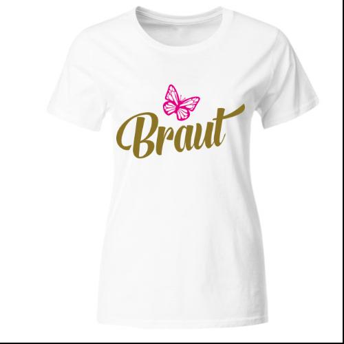 Braut Junggesellinnenabschied Frauen T-Shirt
