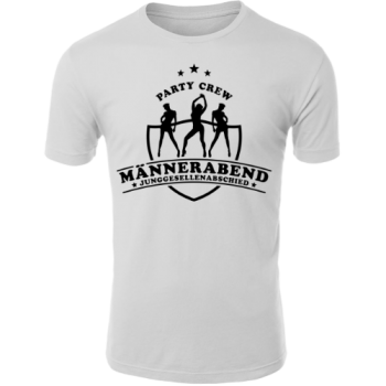 Party Crew Männerabend JGA T-Shirt